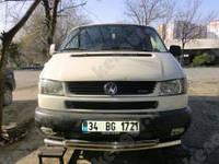 Защитная дуга бампера Volkswagen Caravelle, двойной ус