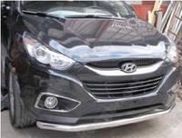 Защита бампера Hyundai IX35, одинарная