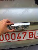 Хром накладка на крышку багажника Nissan Primastar