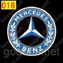 Подсветка с логотипом Mercedes-Benz