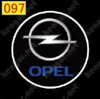 Подсветка дверей с логотипом  Opel
