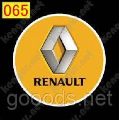 Подсветка с логотипом Renault