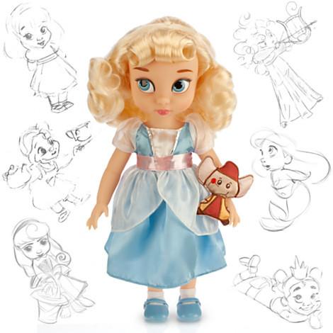 Кукла Золушка Дисней Аниматоры Disney Animators Cinderella, фото 1