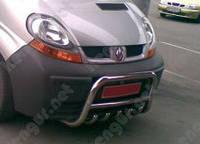 Защита переднего бампера Nissan Primastar