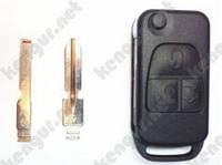 Корпус ключа Mercedes Benz (2008)