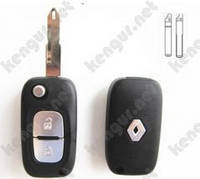 Корпус ключа Renault Megan (2209)