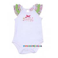 Боди-футболка для девочки р-р 68-86 SILVER SUN BK 1761