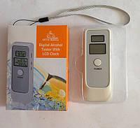 Цифровой алкотестер с LCD часами