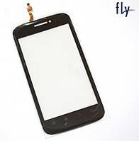 Touchscreen (сенсорный экран) для FLY TP10668A, оригинал (черный)