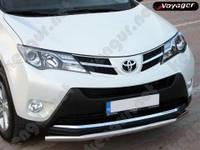 Защитная дуга бампера Toyota RAV4, одинарная
