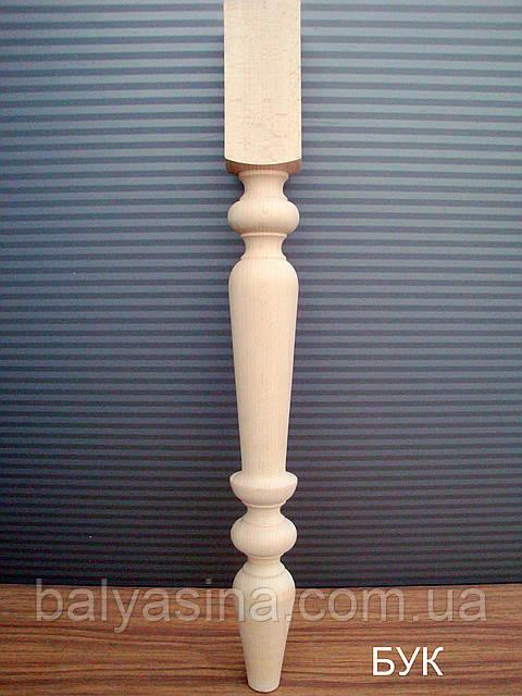 Деревянные ножки для стола точёные 75х75.