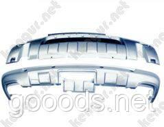 Диффузор переднего и заднего бампера Volkswagen Touareg