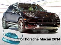 Накладки под передний и задний бампер Porsche Macan