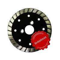 Алмазные диски для резки и зачистки камня на фланце Ф115 мм. мульти-блейд.