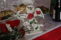 Амур Купидон Ангел на подставке №1 заготовка для декупажа и декора