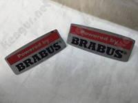 "Комплект шильдиков ""Powered by Brabus"" Mercedes G-class W463"