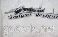 """Комплект шильдиков на сиденья """"Designo"""" Mercedes G-class W463"""