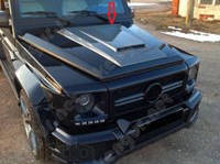 Накладка на капот, воздухозаборник Mercedes Benz G63 AMG