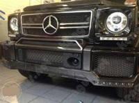 Карбоновый тюниг переднего бампера Mercedes G-Class