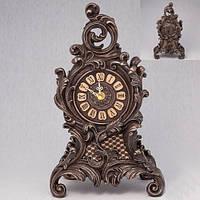 Каминные часы  покрытые бронзой 31 см
