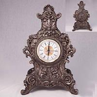 Часы  каминные с боронзовым покрытием 32*21 см