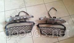 Дневные ходовые огни DRL Mercedes S-class W221 AMG A2218201356, A2218201456