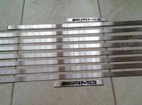 Вставки в молдинги AMG Mercedes G-class W463, металл