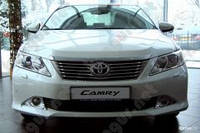 Бампер передний (голый) Toyota Camry V50