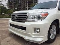 Накладки для тюнинга бампера Toyota Land Cruiser