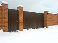 Откатные, сдвижные ворота