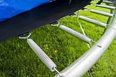 Батут Prom 252 см, сетка и лесенка, фото 3