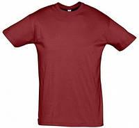 Мужская футболка для печати х/б цвет КРАСНЫЙ