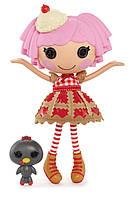 Лалалупси Вишенка большая кукла Lalaloopsy Girls с птичкой