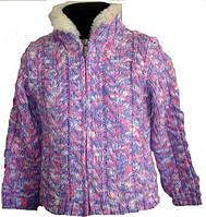 Курточка вязанная для девочек и мальчиков