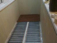 Утепление балкона инфракрасной пленкой