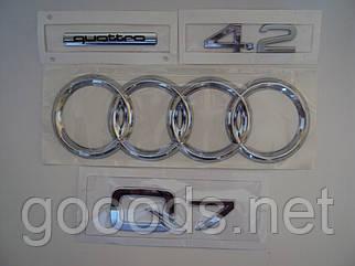 Комплект надписей на Audi Q7