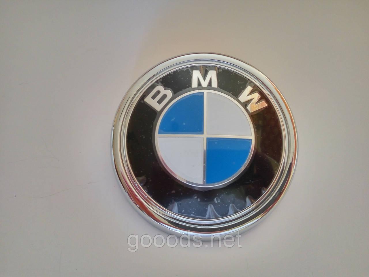 Задняя эмблема на багажник BMW X5