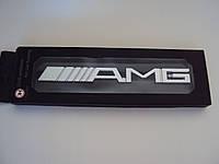 Надпись металлическая AMG на машины Mercedes-Benz в решетку