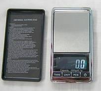 Высокоточные ювелирные, карманные весы до 1000 г (точность 0,1 г)