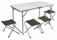 Кемпинговый стол со стульями