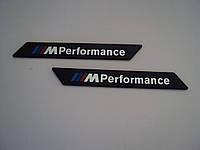 Декоративная пластиковая надпись M Performance для BMW