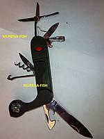 Нож складной туристический TS06 (многофункциональный)