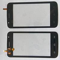 Explay Atom тачскрін сенсор чорний оригінальний