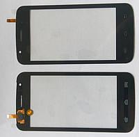 Сенсорний екран для смартфону Explay Atom, тачскрін чорний