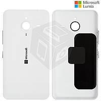 Задняя панель корпуса для Microsoft Lumia 640 XL, c боковыми кнопками, белая, оригинал