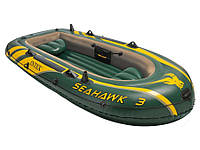 Надувная трехместная лодка Intex 68349
