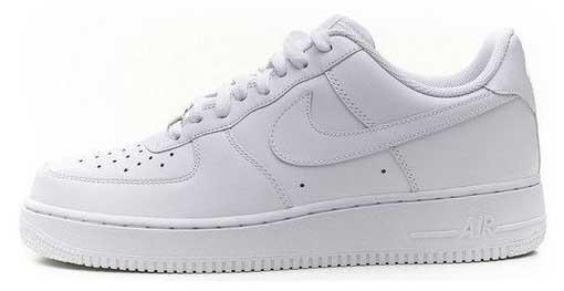 Женские кроссовки Nike Air Force 1 Low 07 All White 315122-111, Найк Аир Форс