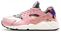 Женские кроссовки Nike WMNS Air Huarache Run Print Pink, найк хуарачи