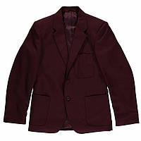 Бордовый пиджак для мальчика
