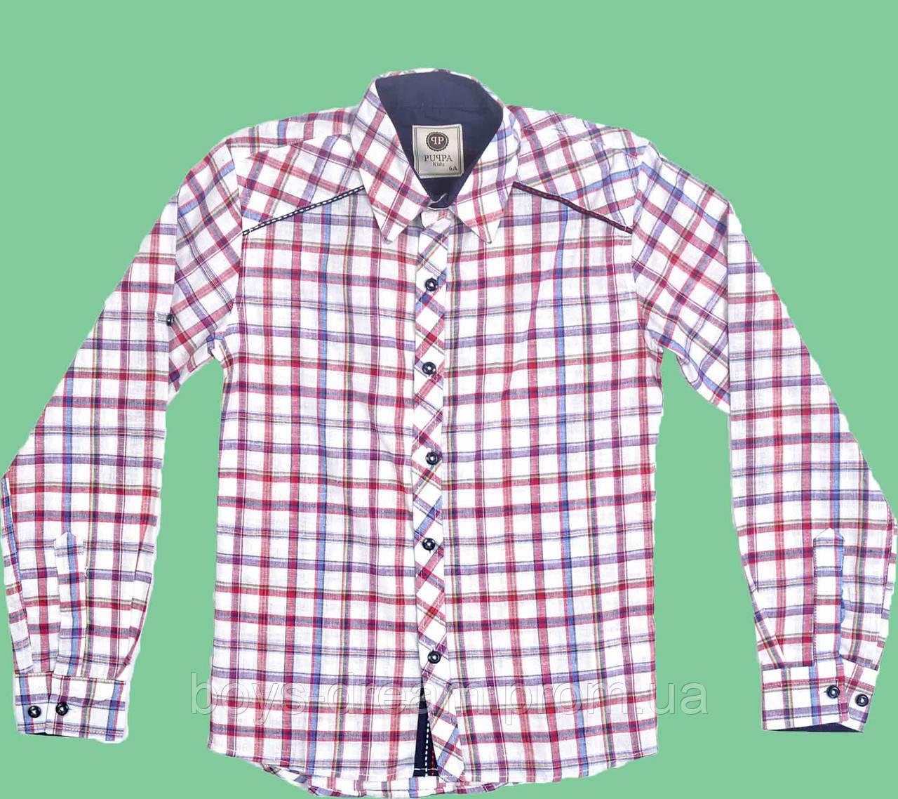 Рубашка для мальчика (98-122)Турция